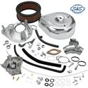 Picture of S & S Super G Carb Kit with Manifold,  99-05 Twin Cam, Part # DS-0453
