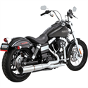 Picture of VANCE & HINES, STAINLESS HI-OUTPUT 2-INTO-1, 06-13 Dyna models (except FLD), Part # 1800-1555