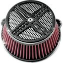 Picture of AIR CLEANER ASSEMBLIES, XXx, black,  FOR 08-13 FLHT/FLHR/FLTR/FLHX AND H-D FL TRIKES, PART# 1010-0699