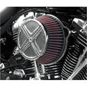 Picture of AIR CLEANER ASSEMBLIES, xXx, chrome, FOR 91-13 XL W/ CV CARBURETOR OR DELPHI EFI, PART# 1010-0562
