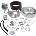 Picture of S & S Super E Carb Kit with Manifold (Band Style Intake)  79-84 Shovelhead, # DS-0411