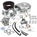 Picture of S & S Super G Carb Kit with Manifold, 84-91 Evolution Big Twin, # DS-0427